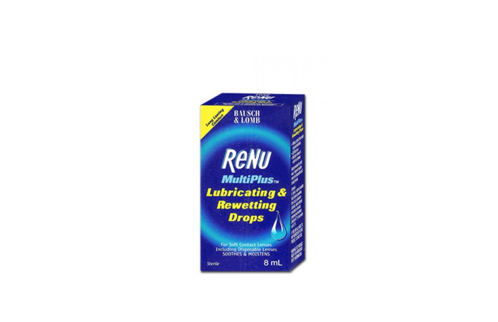 ReNu Lubricating & Rewetting Drops - 8 ml