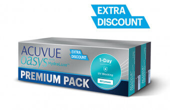Acuvue Oasys 1-DAY - Premium Pack - 60szt.