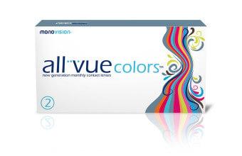 All Vue Colors™ blue - 1 soczewka - wyprzedaż