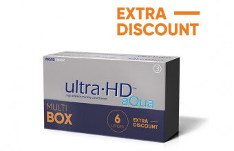 Ultra HD™ Aqua - 6 soczewek - MultiBOX