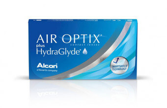 Air Optix plus Hydra Glyde - 6 soczewek