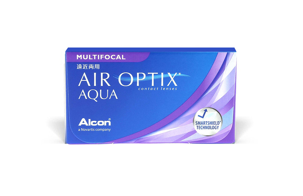 AIR OPTIX Aqua Multifocal - 3 soczewki