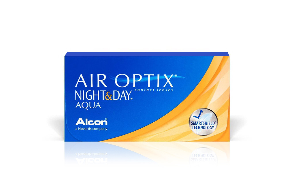 AIR OPTIX NIGHT & DAY Aqua  - 3 soczewek
