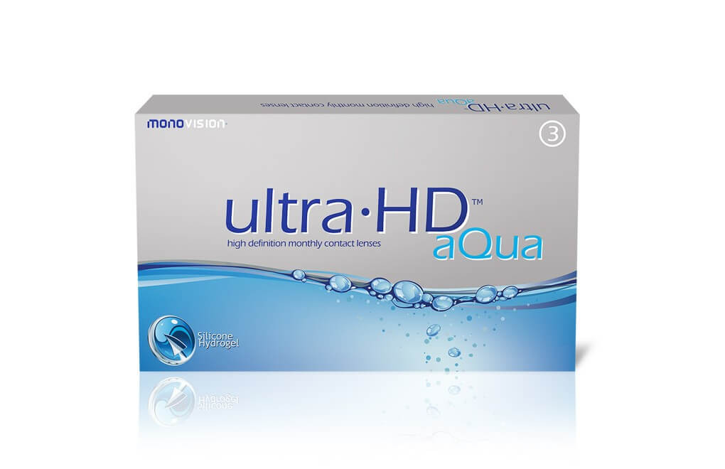 Ultra HD™ Aqua - 1 soczewka - wyprzedaż