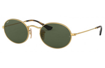 Ray-Ban 3547N OVAL FLAT LENSES kolor 001 rozmiar 54