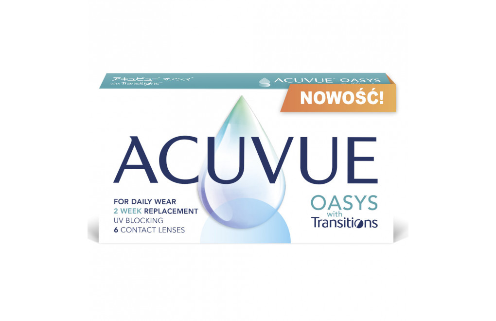 ACUVUE® OASYS with Transitions™ - 6 soczewek