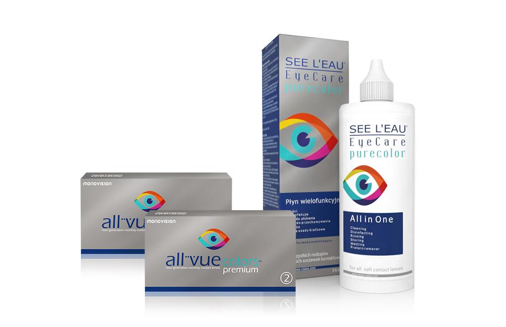 Zestaw SEE L'EAU PureColor + All Vue Colors Premium