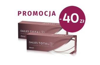2x Dailies Total 1 - 60 soczewek - PROMOCJA