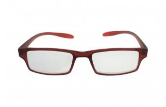 ICON SEE i104 - Okulary do czytania BORDOWE