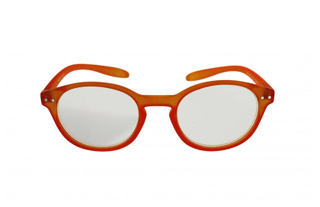 ICON SEE i103 - Okulary do czytania POMARAŃCZOWE