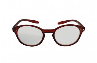 ICON SEE i103 - Okulary do czytania BORDOWE