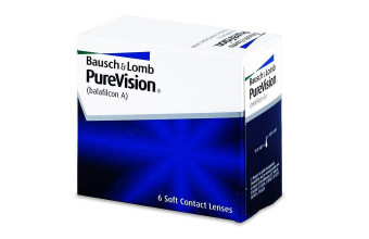 PureVision - 2x6 soczewek - plus ReNu MultiPlus 60 ml