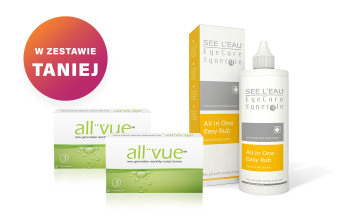 Zestaw 2x All Vue™ + SEE L'EAU EyeCare Synergie 350ml