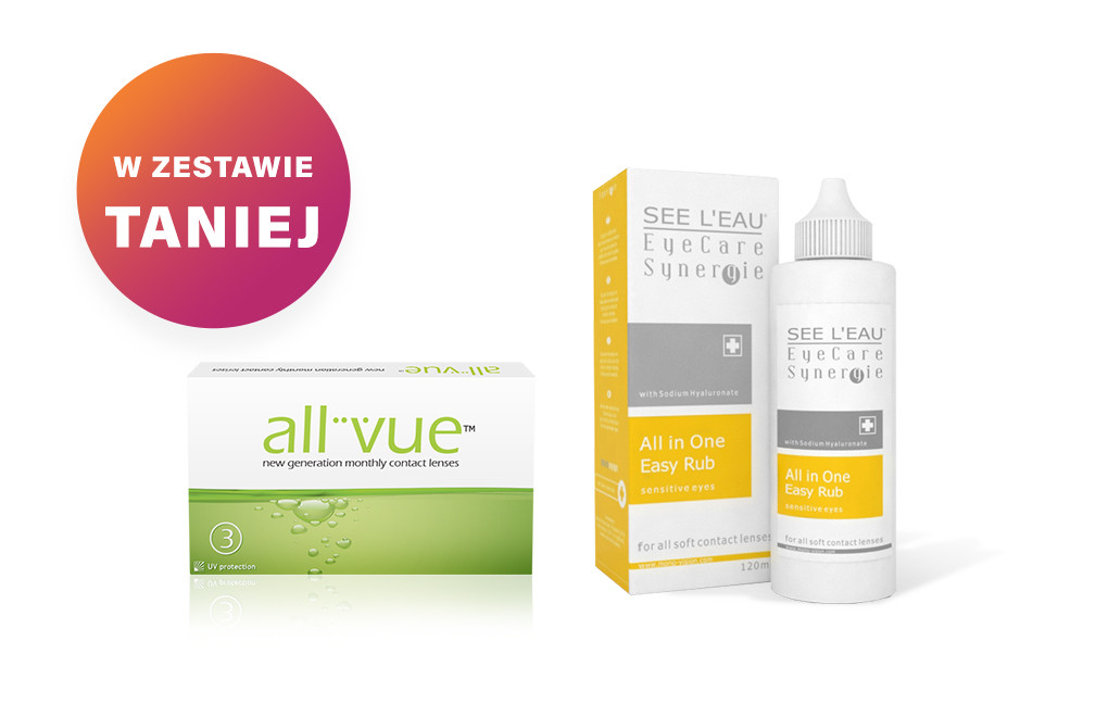 Zestaw All Vue™ + SEE L'EAU EyeCare Synergie 120ml
