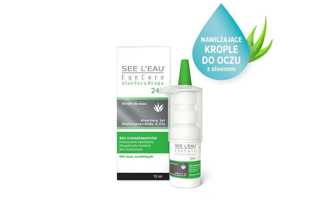 See L'eau EyeCare AloeVera Drops™ 10 ml