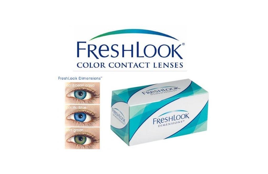 FreshLook Dimensions - 1 soczewka wyprzedaż
