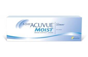 1-DAY Acuvue® MOIST - 5 soczewek - wyprzedaż