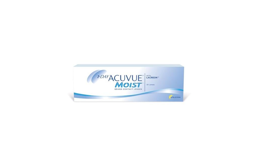 Acuvue 1-DAY MOIST - 5 soczewek - wyprzedaż