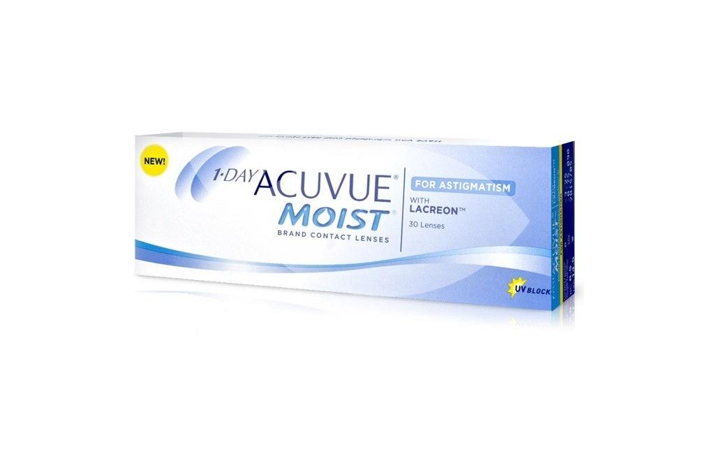 Acuvue 1-DAY MOIST for Astigmatism - 5 soczewek  - wyprzedaż