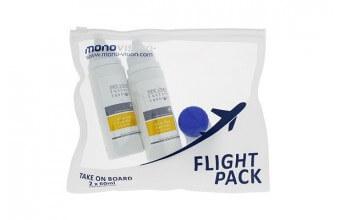 Flight Pack MonoVision 2x60ml + pojemnik na soczewki