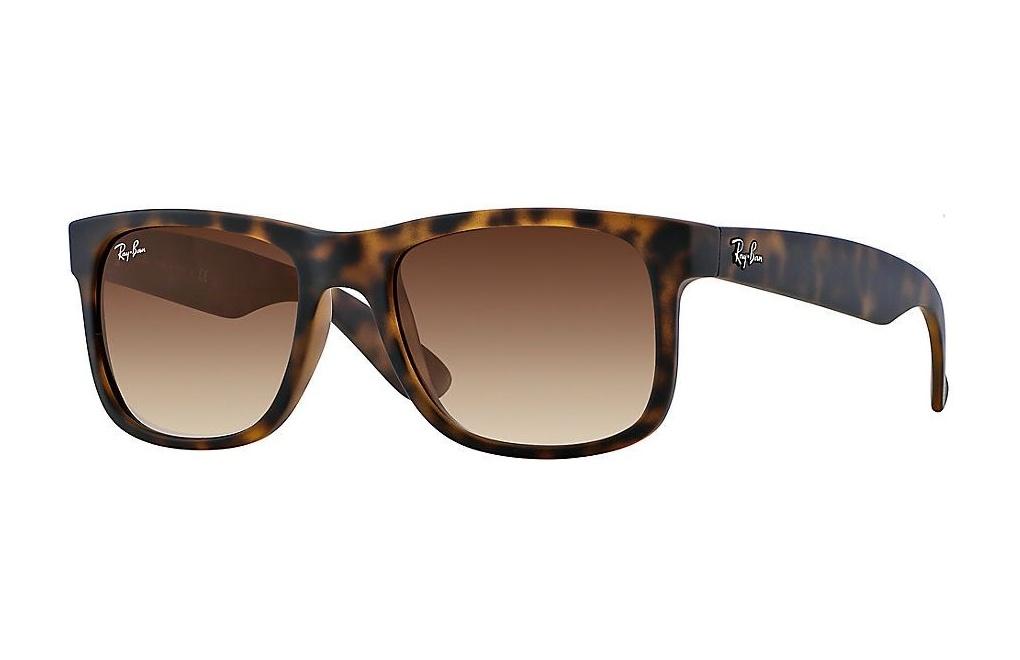 b5add500cbf792 Okulary przeciwsłoneczne Ray-Ban 4165 JUSTIN kolor 710/13 rozmiar 55