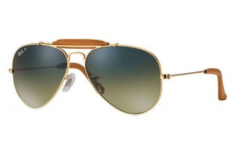 Ray-Ban 3422Q OUTDOORSMAN CRAFT kolor 001/M9 rozmiar 58 POLARYZCJA