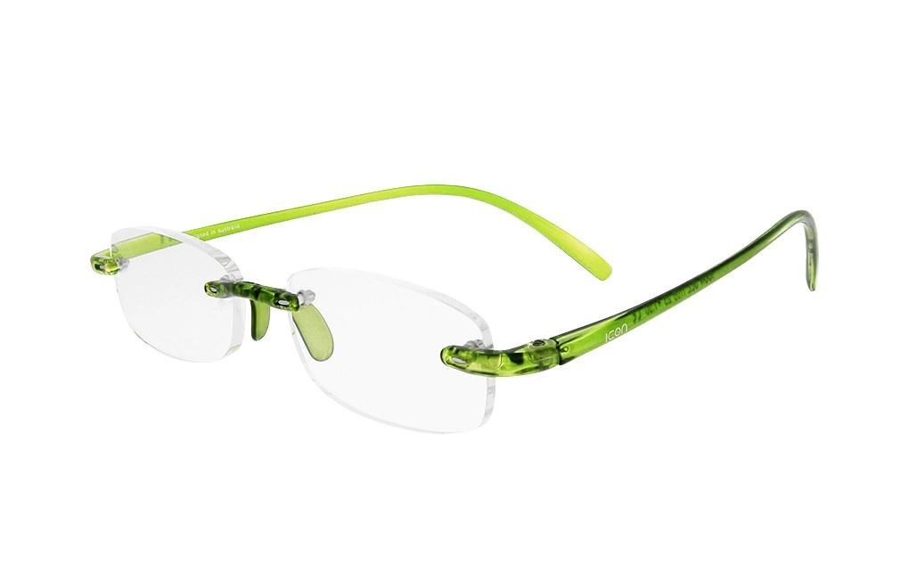 ICON SEE i106 - Okulary do czytania ZIELONE