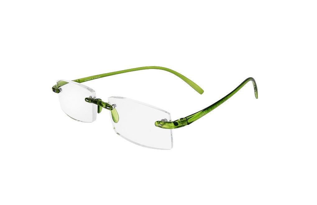 ICON SEE i105 - Okulary do czytania ZIELONE