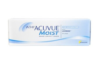 1-DAY Acuvue® MOIST for Astigmatism - 30 soczewek