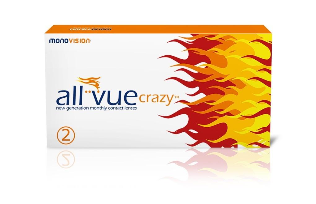 All Vue Crazy™ - 2 soczewki - WYPRZEDAŻ, krótki termin ważności