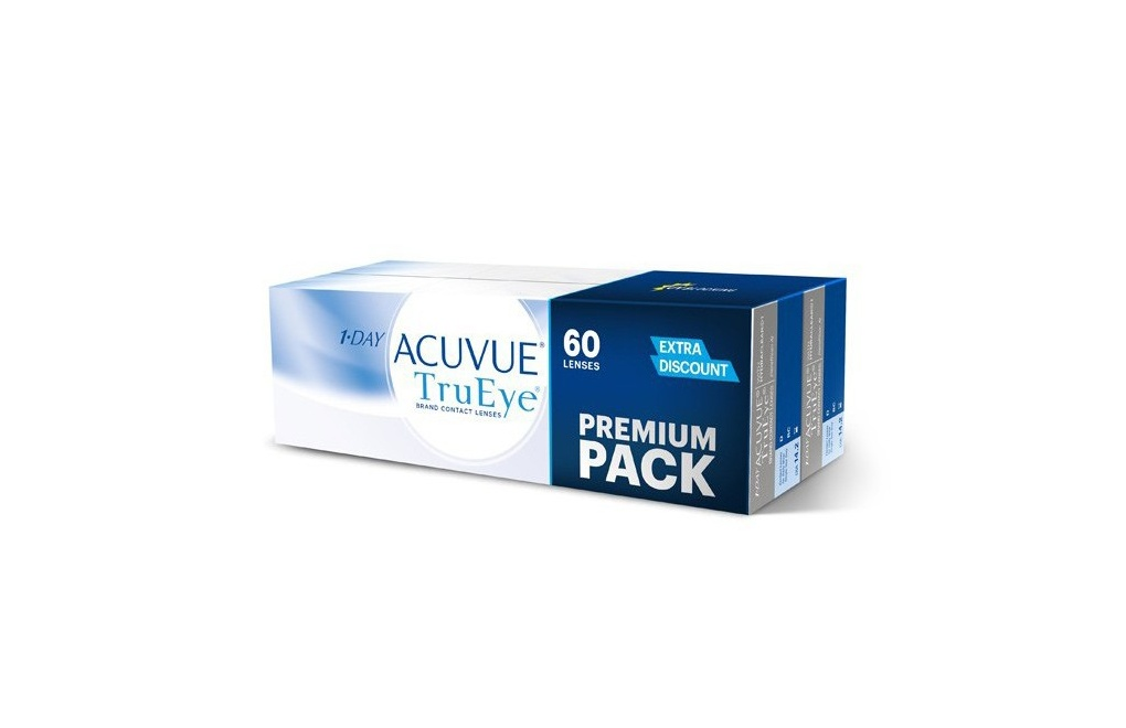 Acuvue 1-DAY TruEye - Premium Pack - 60 szt