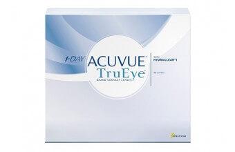 1-DAY ACUVUE® TruEye® - 90 soczewek + CashBack 27 zł