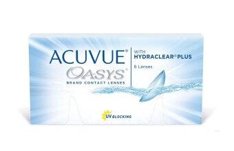 Acuvue OASYS with HYDRACLEAR Plus - 24 soczewki + CashBack 72zł