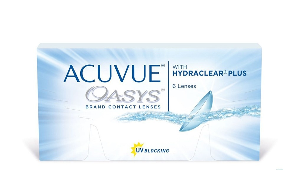 ACUVUE® OASYS with HYDRACLEAR Plus - 24 soczewki + CashBack 72zł