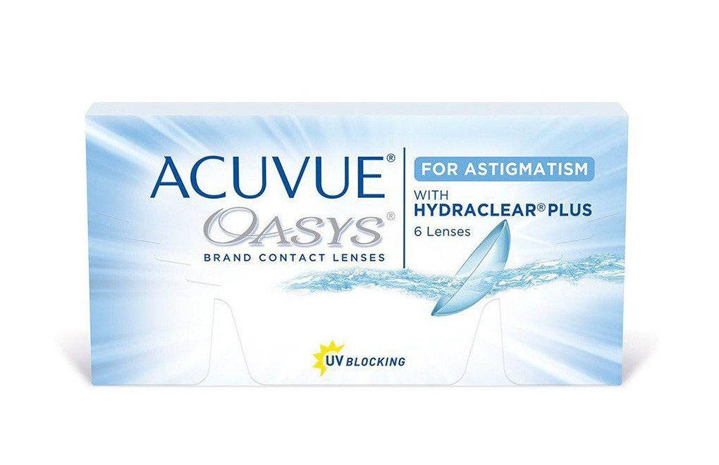 ACUVUE® OASYS with HYDRACLEAR® PLUS for ASTIGMATISM - 6 soczewek