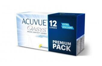 Acuvue OASYS - Soczewki dwutygodniowe - Premium Pack - 12szt.
