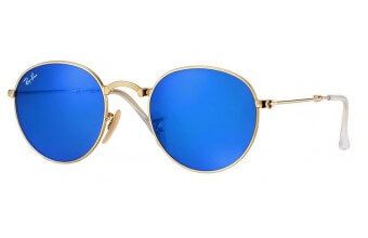 Ray-Ban 3532 ROUND METAL FOLDING kolor 001/68 rozmiar 53