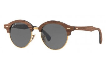 Ray-Ban 4246M CLUBROUND WOOD kolor 1181/58 rozmiar 51