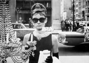 """Audrey Hepburn- """"Śniadanie u Tiffaniego"""""""