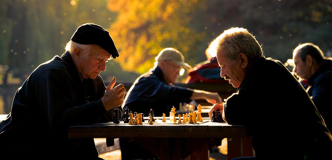 Mężczyźni w wieku 60 lat