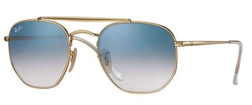 Okulary przeciwsłoneczne Ray-Ban 3648 MARSHAL kolor 001/3F