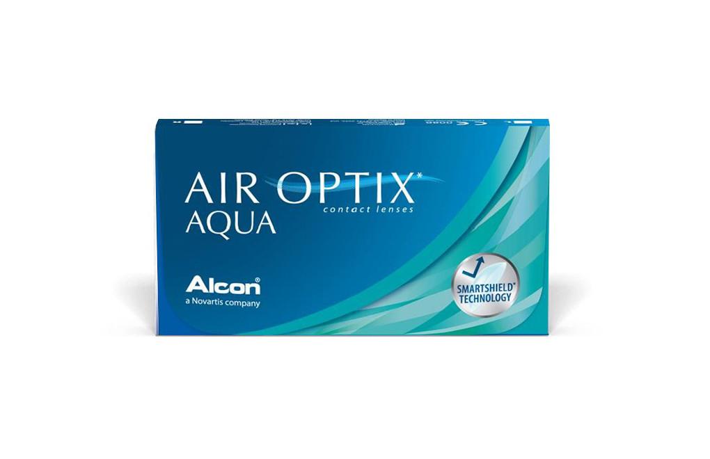 Soczewki kontaktowe AIR OPTIX AQUA 3 soczewki
