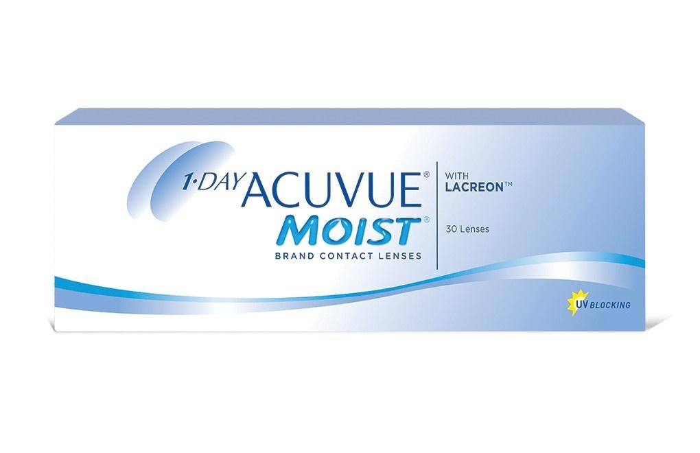 Acuvue 1-DAY MOIST 30 soczewek