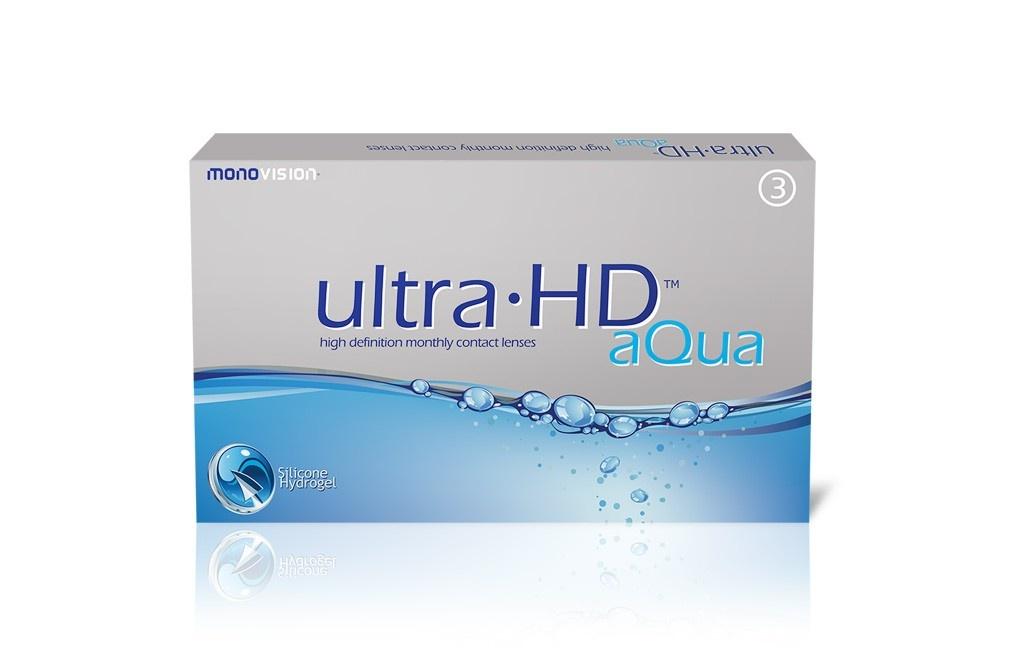 Soczewki kontaktowe Ultra HD Aqua