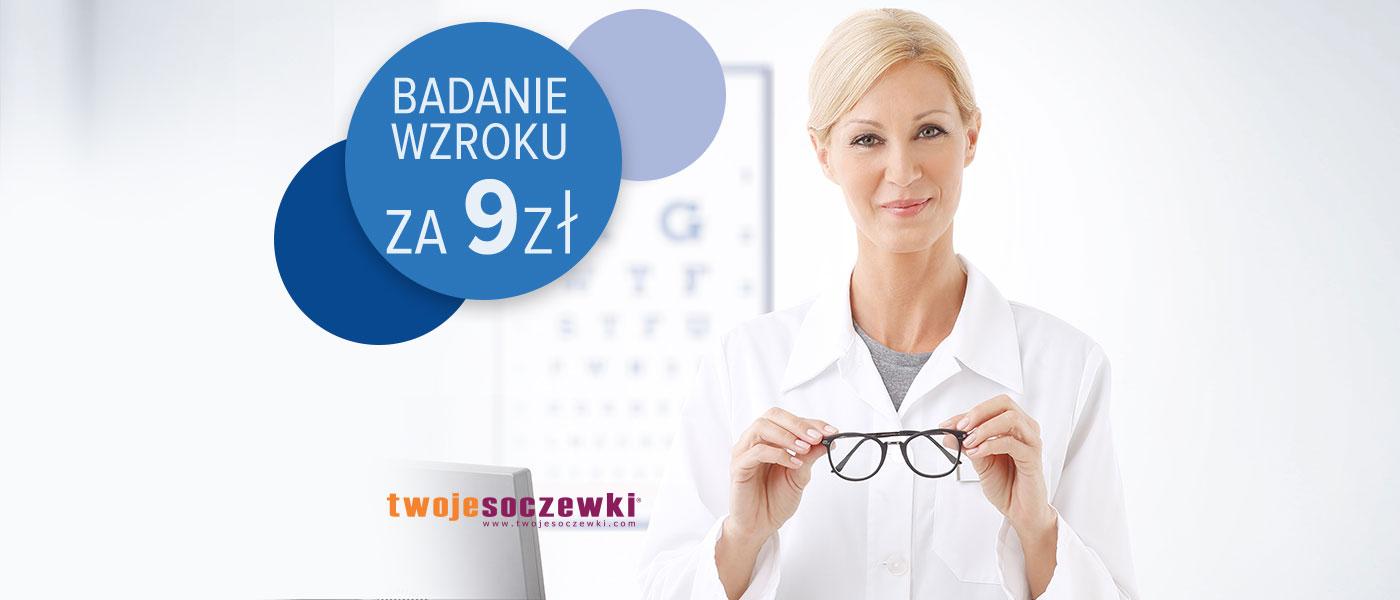Badanie wzroku za 9 zł