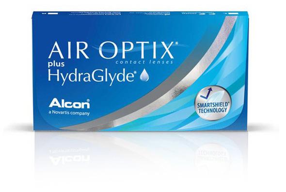 Air Optix plus Hydra Glyde 3 soczewki