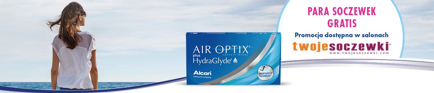 Air optix hydraglydePara soczewek gratis
