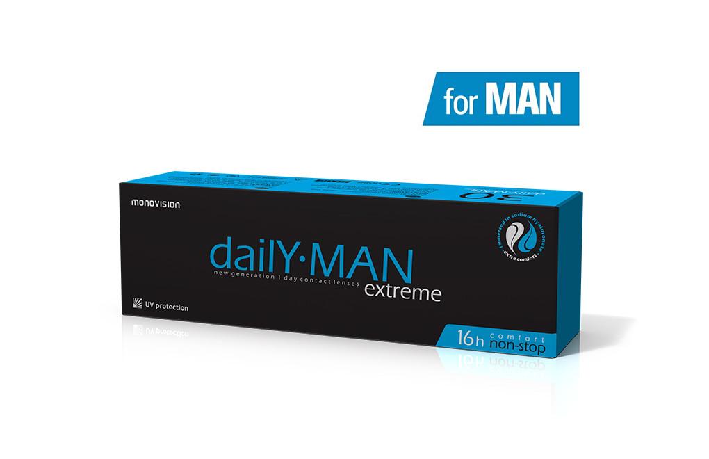 DailY MAN Extreme™ 30 soczewek