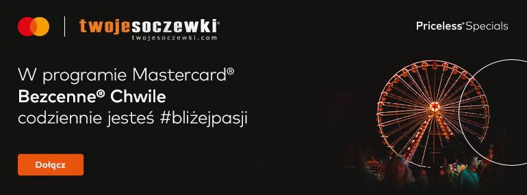 Bezcenne chwile z Mastercard i Twoje Soczewki