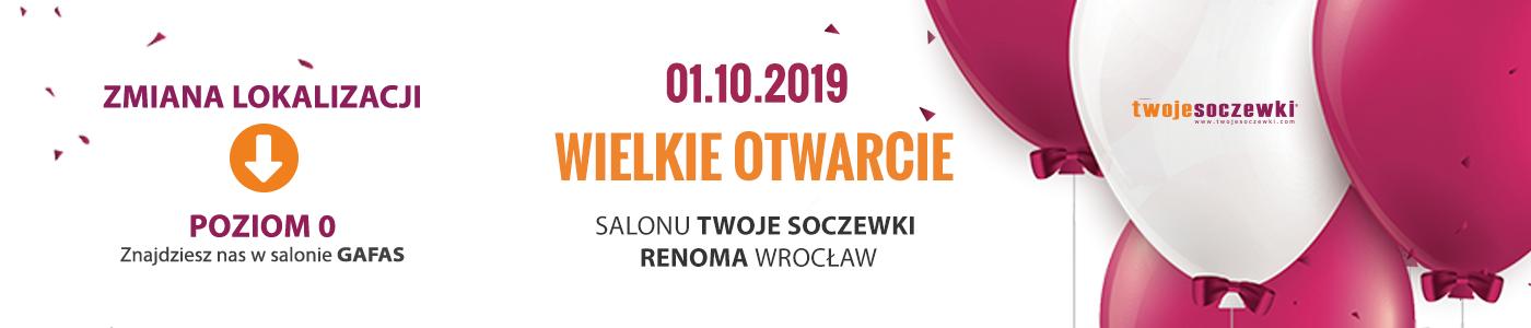 Wielkie otwarcie salonu Twoje Soczewki w Renomie we Wrocławiu